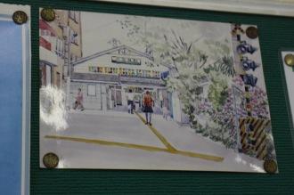 向河原駅周辺の風景画