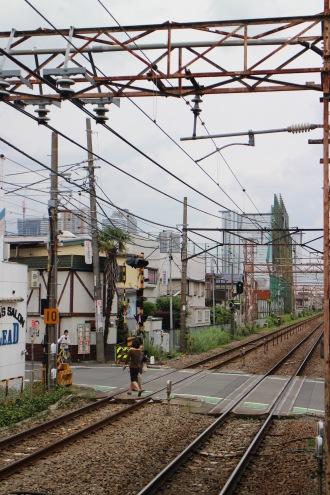 現在の平間駅から、武蔵小杉方面
