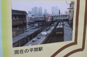 現在の平間駅