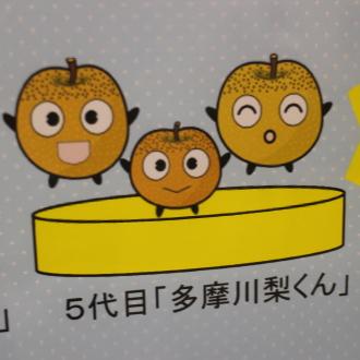 5代目「多摩川梨くん」