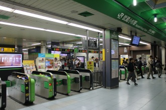 JR武蔵小杉駅の南武線口