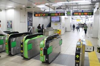 JR武蔵小杉駅の新南口