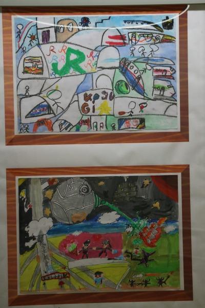 南武線90周年記念「90年後の武蔵小杉駅 ポスター絵画展」