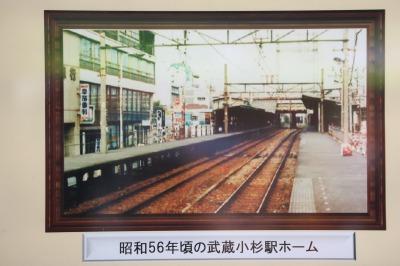 武蔵小杉駅ホームから見た小杉ビルディング