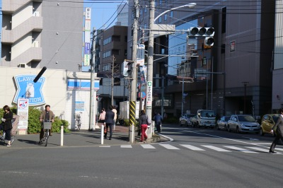 武蔵中原駅前の「ローソン」