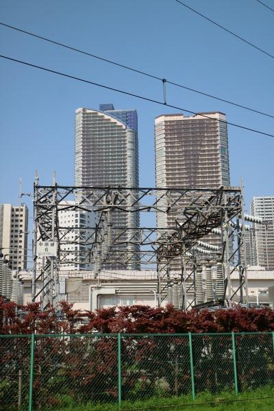 NEC玉川事業場内の「中原線6号」