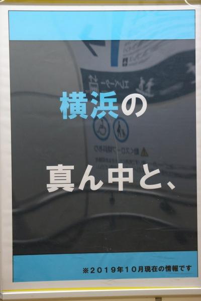 「横浜の真ん中と、」