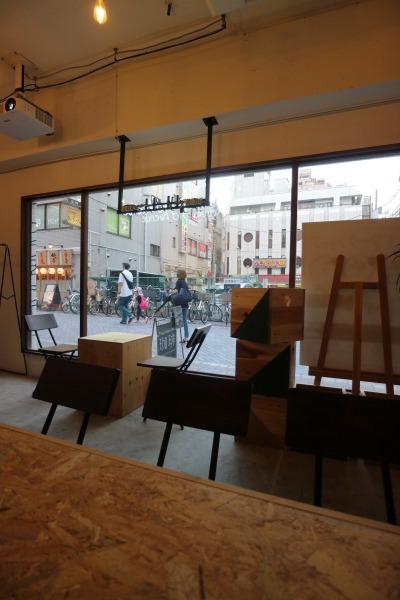 「Kosugi 3rd Avenue Labo」のワークショップスペース