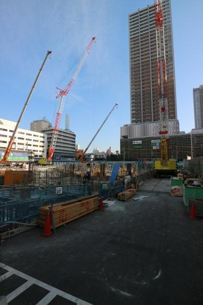 工事が本格化する「Kosugi 3rd Avenue」