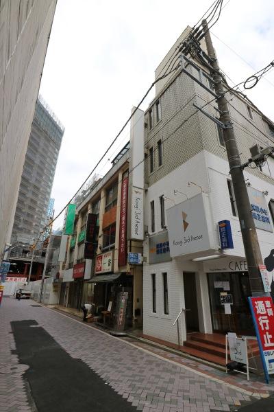 「Kosugi 3rd Avenue」建設による解体エリア