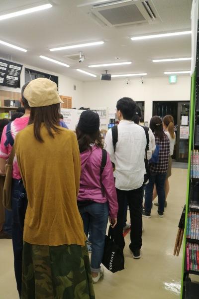 「TSUTAYA小杉店」営業最終日の閉店セール