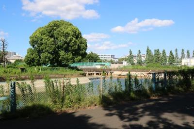平間配水所の施設