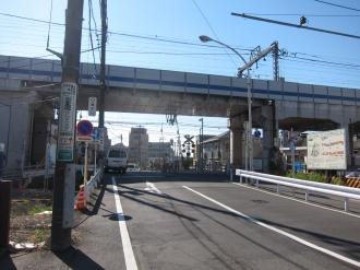 苅宿小田中線 東横立体工区