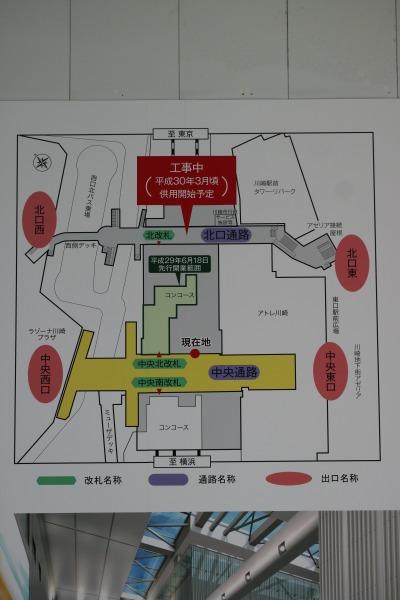 開業エリアのマップ