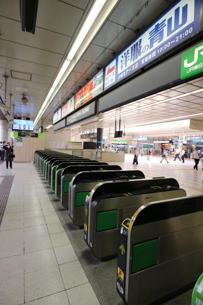 JR川崎駅の従来の「中央南改札」