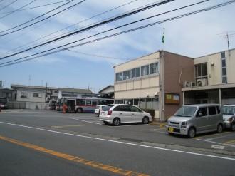 かつての「東急バス川崎営業所」