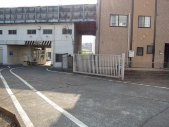 ケーヒン川崎工場の入口