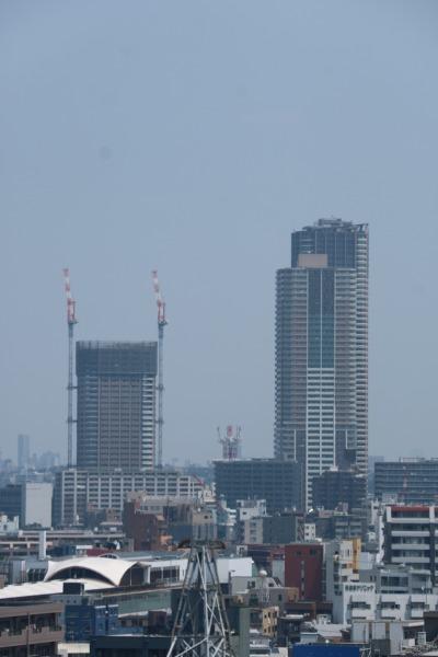 プラウドタワー武蔵小杉とパークシティ武蔵小杉ザガーデン