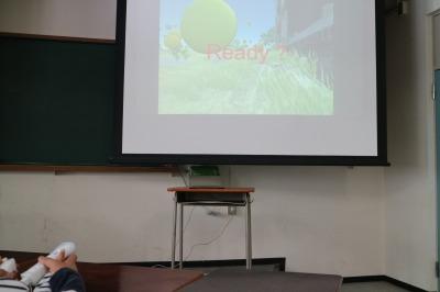 「超電子工学研究会」Wiiリモコンを使ったオリジナルゲーム
