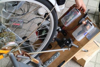 自転車発電