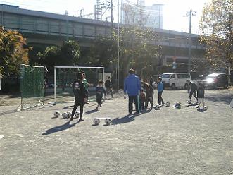 サッカーのPK戦