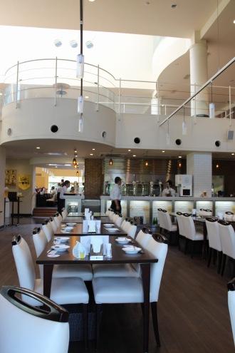 キリンビール横浜工場内のレストラン