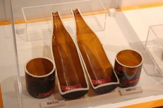 環境にやさしいビール瓶の改良