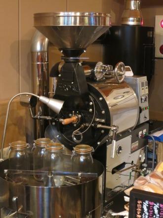 「SHIBA COFFEE」のコーヒーロースター