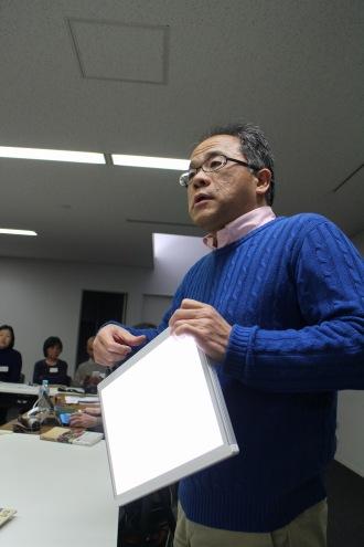 新丸子「写真道場」の久門易先生