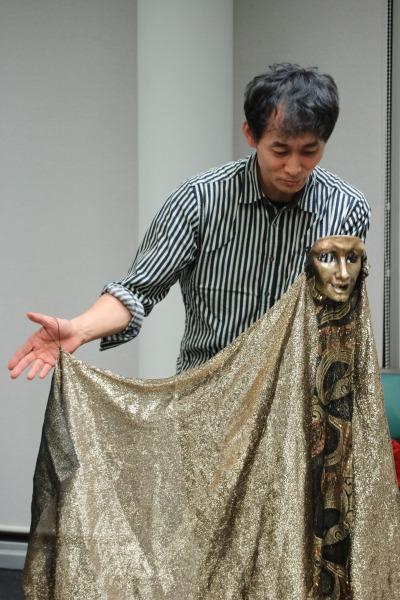 人形劇団ひとみ座代表 中村孝男さん