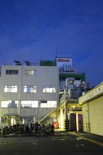 クノール食品の工場