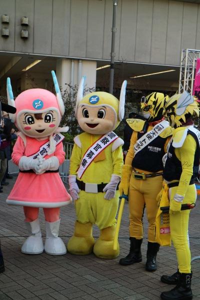 神奈川県警のキャラクター