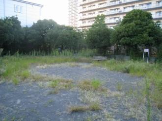 新丸子東第2公園の全景(前回エントリ時)