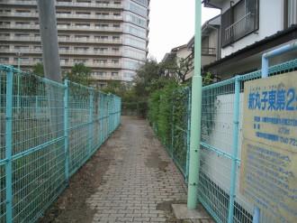 新丸子東第2公園の入口