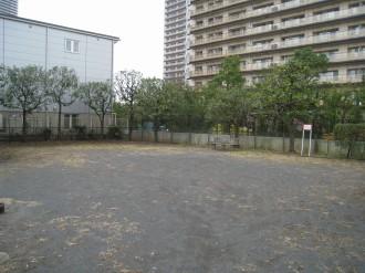 新丸子東第2公園の全景