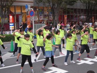 上丸子小学校の皆さんによる「舞祭」