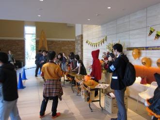 リエトコート武蔵小杉ザ・クラッシィタワーのお菓子配布場所