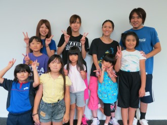 小杉ダンスチーム「KSG48」集合(一部のメンバーです)