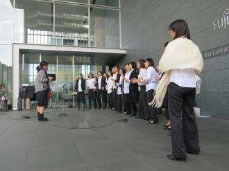 クリスとゴスペル(P.U.E.L Choir)