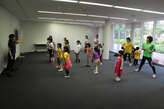 「KSG48」のダンスワークショップ