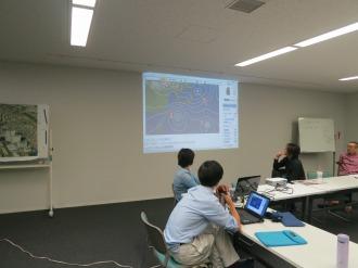 台風ダブル接近、10月23日の緊急ワーキング・グループ