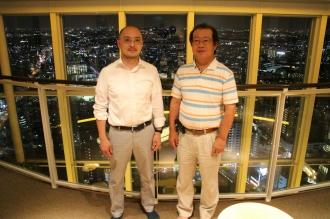 左から大坂亮志さん、松尾寛さん