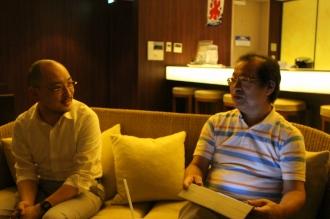 大坂さんと松尾さん
