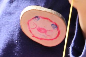 木材でつくるオリジナルバッヂ