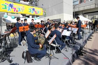 メインステージ「法政大学第二高等学校吹奏楽部」