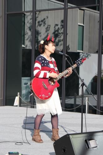 KDX会場の「カワサキミュージックキャスト」ステージ