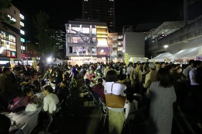 「コスギフェスタ2016」前夜祭が開催されたこすぎコアパーク