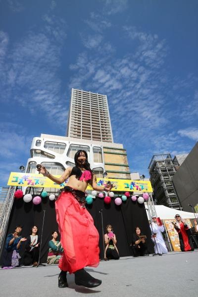 踊り子の扮装をしたモルジアナ