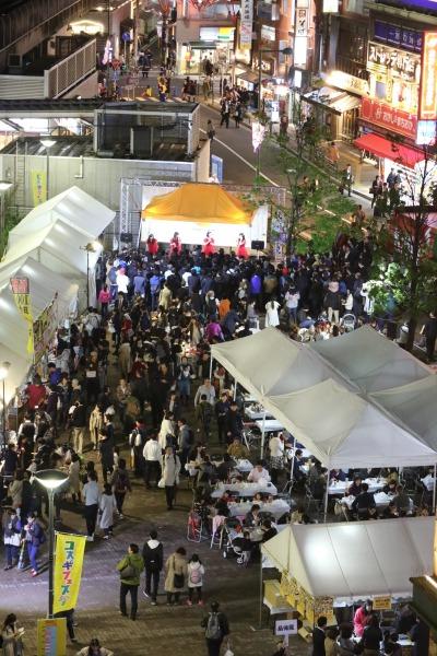 「コスギフェスタ2017」前夜祭が開催されたこすぎコアパーク