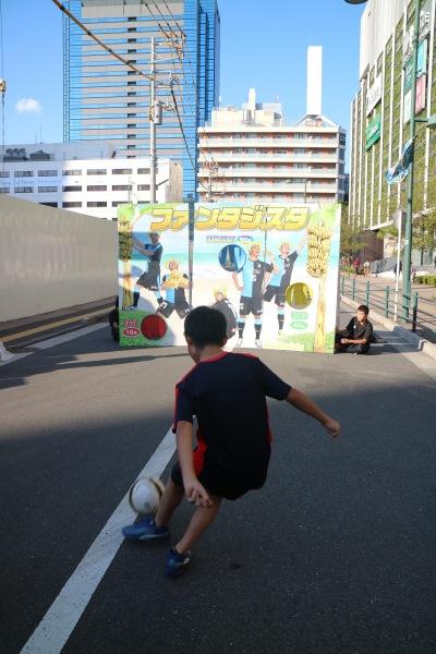 「ビーチサッカークラブ川崎」サッカー体験